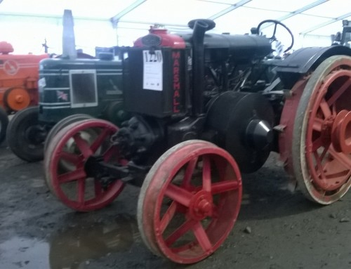 Fabulous Vintage Tractor Show last weekend at Newark Showground